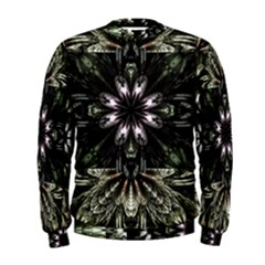Fractal Design Pattern Texture Men s Sweatshirt