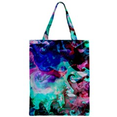 Background Art Abstract Watercolor Zipper Classic Tote Bag by Celenk