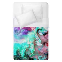 Background Art Abstract Watercolor Duvet Cover (single Size) by Celenk