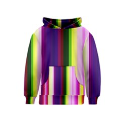Abstract Background Pattern Textile 2 Kids  Pullover Hoodie