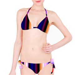 Abstract Background Pattern Textile 3 Bikini Set