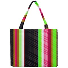 Abstract Background Pattern Textile Mini Tote Bag by Celenk