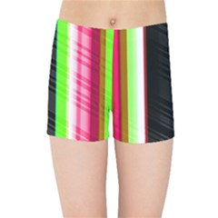 Abstract Background Pattern Textile Kids Sports Shorts by Celenk