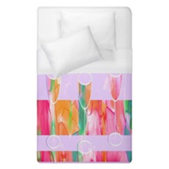 Watercolour Paint Dripping Ink Duvet Cover (single Size) by Celenk