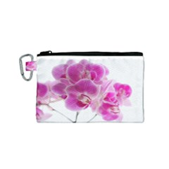 Orchid Phaleonopsis Art Plant Canvas Cosmetic Bag (small)