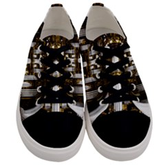 Organ Church Music Organ Whistle Men s Low Top Canvas Sneakers