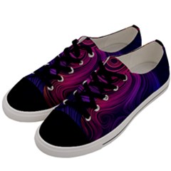 Abstract Pattern Art Wallpaper Men s Low Top Canvas Sneakers by Celenk