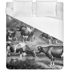 Holstein Fresian Cows Fresian Cows Duvet Cover (california King Size)