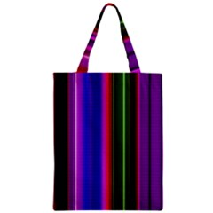 Abstract Background Pattern Textile 4 Zipper Classic Tote Bag by Celenk