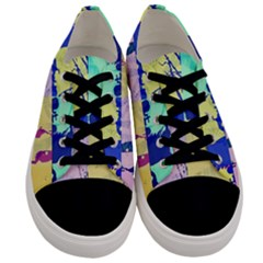 Girlfriend  respect Her   Men s Low Top Canvas Sneakers