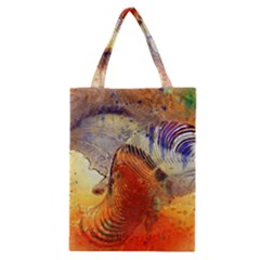 Dirty Dirt Image Spiral Wave Classic Tote Bag by Celenk