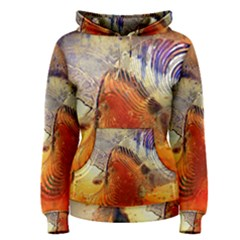 Dirty Dirt Image Spiral Wave Women s Pullover Hoodie by Celenk
