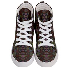 Pattern Abstract Art Decoration Women s Hi Top Skate Sneakers