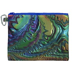 Fractal Art Background Image Canvas Cosmetic Bag (xxl) by Celenk