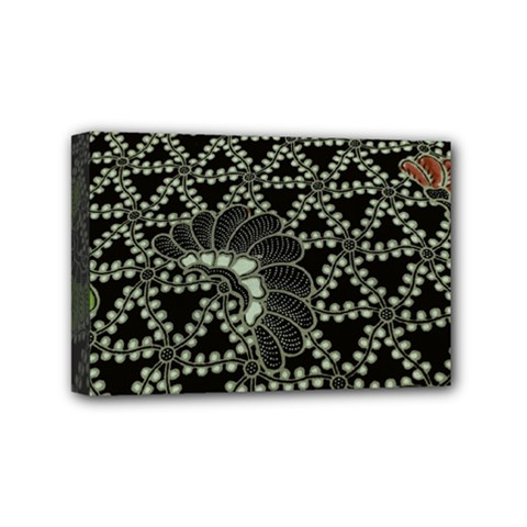 Batik Traditional Heritage Indonesia Mini Canvas 6  X 4  by Celenk