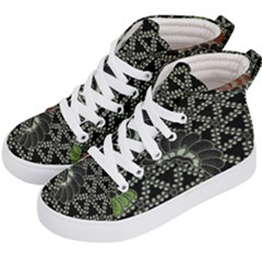 Batik Traditional Heritage Indonesia Kid s Hi Top Skate Sneakers by Celenk
