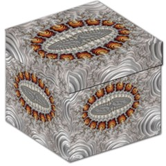 Fractal Fantasy Design Imagination Storage Stool 12   by Celenk