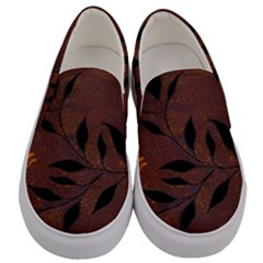 Texture Pattern Background Men s Canvas Slip Ons