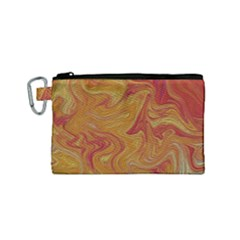 Texture Pattern Abstract Art Canvas Cosmetic Bag (small) by Celenk