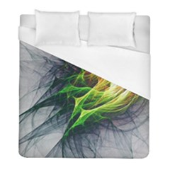 Fractal Art Paint Pattern Texture Duvet Cover (full/ Double Size) by Celenk