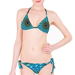 Fractal Art Design Pattern Bikini Set
