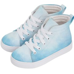 Ombre Kid s Hi Top Skate Sneakers by ValentinaDesign