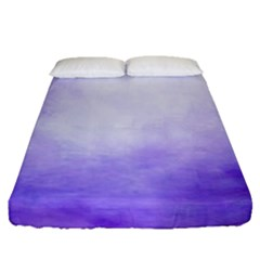 Ombre Fitted Sheet (queen Size) by ValentinaDesign