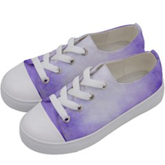 Ombre Kids  Low Top Canvas Sneakers by ValentinaDesign