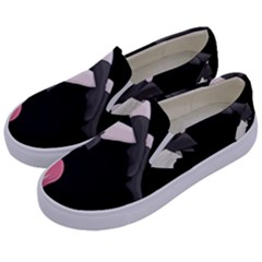 Scorpio Girl Kids  Canvas Slip Ons by Valentinaart