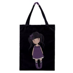 Dolly Girl In Purple Classic Tote Bag by Valentinaart