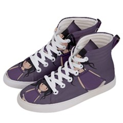 Dolly Girl In Purple Women s Hi Top Skate Sneakers by Valentinaart