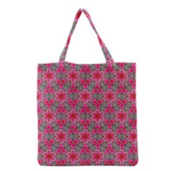 Diamond Star Grocery Tote Bag by Cveti