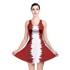 Canada Maple Leaf Art Reversible Skater Dress by CanadaSouvenirs