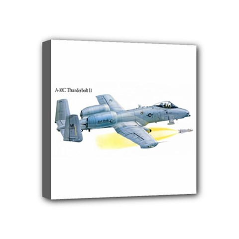 A 10c Thunderbolt Usaf Mini Canvas 4  X 4  by allthingseveryday