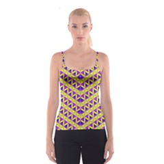 Flower Of Life Pattern 5 Spaghetti Strap Top