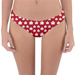 Cute Canada Swimwear Reversible Hipster Bikini Bottoms by CanadaSouvenirs