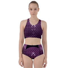 Sphere 3d Geometry Math Design Racer Back Bikini Set by Celenk