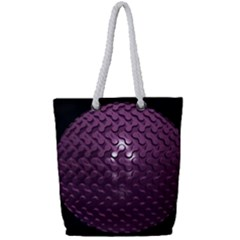 Sphere 3d Geometry Math Design Full Print Rope Handle Tote (small) by Celenk