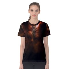 Monster Demon Devil Scary Horror Women s Cotton Tee