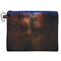 Monster Demon Devil Scary Horror Canvas Cosmetic Bag (xxl) by Celenk
