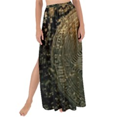 Bitcoin Cryptocurrency Blockchain Maxi Chiffon Tie Up Sarong by Celenk