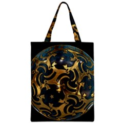Sphere Orb Decoration 3d Zipper Classic Tote Bag by Celenk