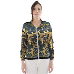 Sphere Orb Decoration 3d Wind Breaker (women)