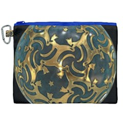 Sphere Orb Decoration 3d Canvas Cosmetic Bag (xxl)