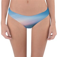 Wave Background Pattern Abstract Lines Light Reversible Hipster Bikini Bottoms by Celenk