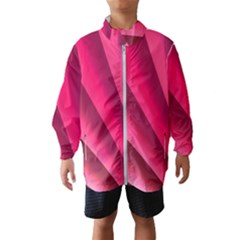 Wave Pattern Structure Texture Colorful Abstract Wind Breaker (kids)