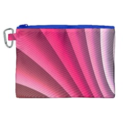 Wave Pattern Structure Texture Colorful Abstract Canvas Cosmetic Bag (xl)