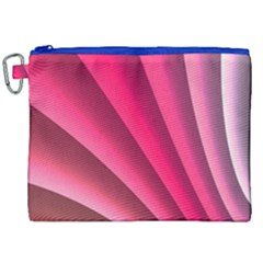 Wave Pattern Structure Texture Colorful Abstract Canvas Cosmetic Bag (xxl) by Celenk