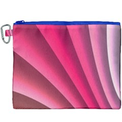 Wave Pattern Structure Texture Colorful Abstract Canvas Cosmetic Bag (xxxl) by Celenk