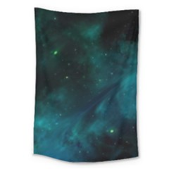 Green Space All Universe Cosmos Galaxy Large Tapestry